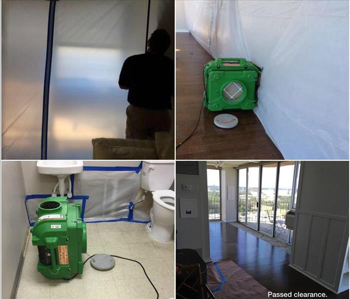 Assisted Living Facility Mold Remediation in Downtown Fort Worth, Texas