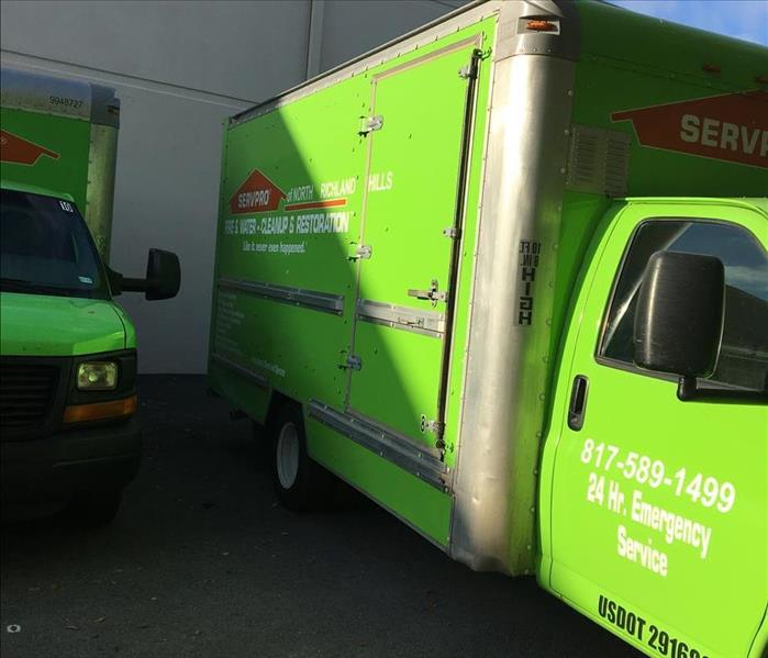 SERVPRO Box Truck Ready for Storm!