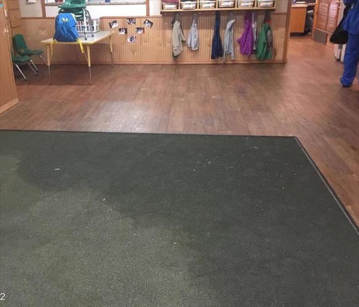 Water Damage Water Damage at a Daycare in Fort Worth